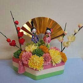 ⑦-A ひな祭りアレンジ